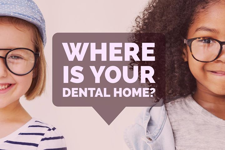 """The AAPD recommends establishing a """"Dental Home"""" for your child by one year of age. Children who have a dental home are more likely to receive appropriate preventative and routine oral health care. Share this post with your friends to tell them about your dental home! - Kids Dental Center   #Chandler   #AZ   http://ift.tt/1JF8HW9"""