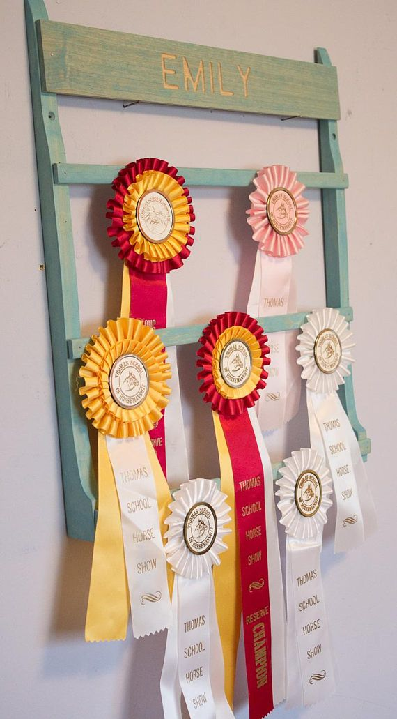 Horse Ribbon Display Personalized