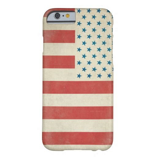 American Vintage Civilian Flag Case Barely There iPhone 6 Case