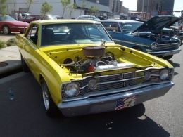 1967 Dodge Dart Big Bird Muscle Car by Aves http://www.musclecarbuilds.net/1967-dodge-dart-big-bird-build-by-aves