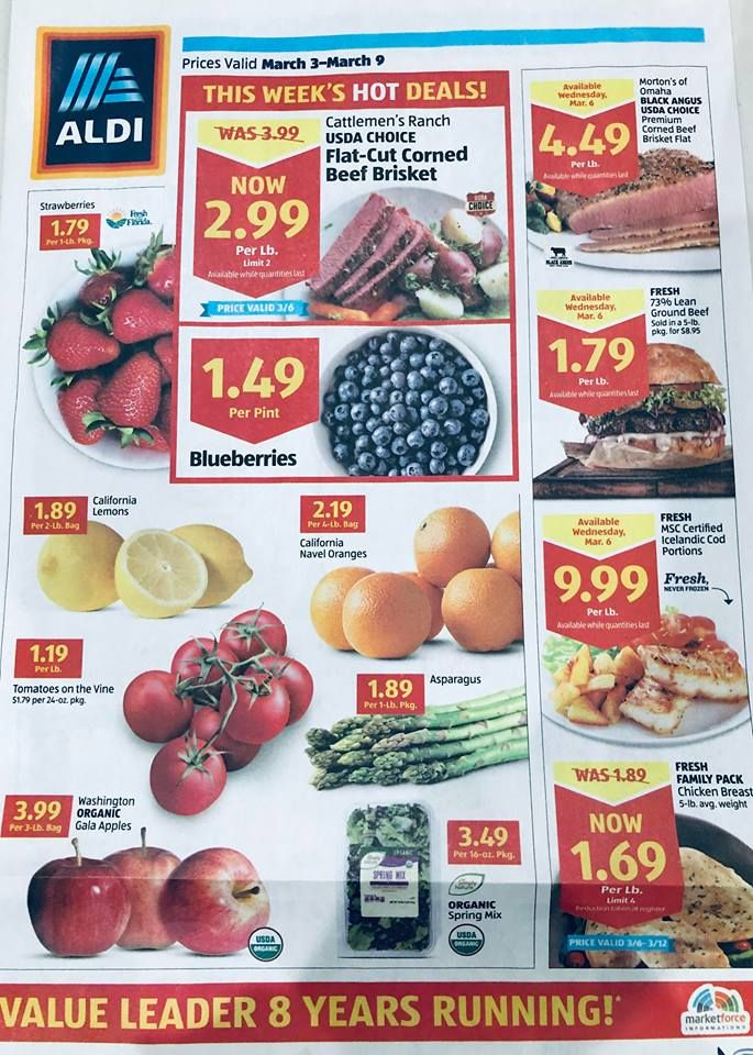 Aldi Weekly Ad 9/1-9/7 Everyday Aldi Price List: $ 99 Plums