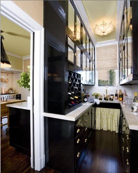 Glossy black kitchen cabinets inspiration pinterest - Glossy black kitchen cabinets ...
