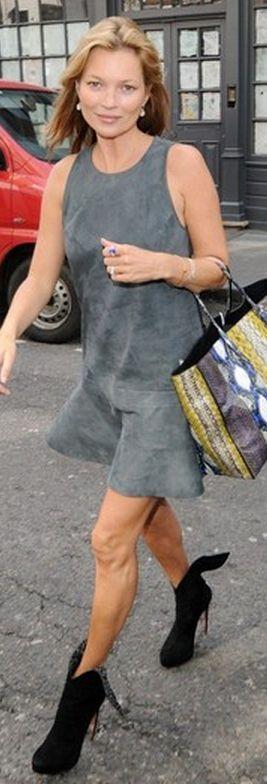 Dress and purse – Balenciaga   Shoes – Azzedine Alaia