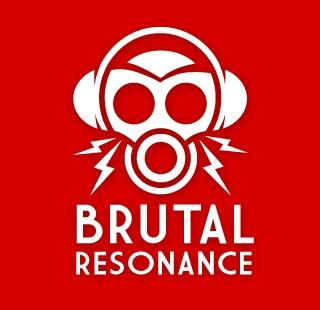 Logo for Brutal Resonance netzine.
