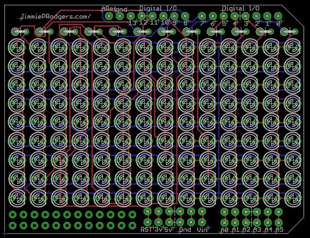 ARDUINO LCD SHIELD