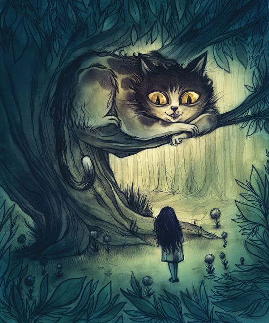 The Cheshire Cat by Cory Godbey