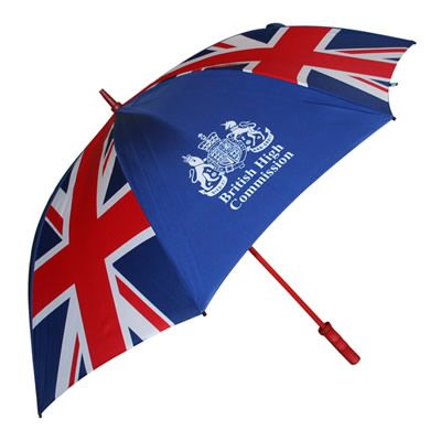 Promotional Golf Umbrellas - huge branding area, and Pantone matched.