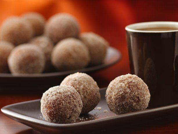 Gluten Free Doughnut Holes - these are simply amazing!  My son makes these for me so I don't miss doughnuts any more.  Try them.
