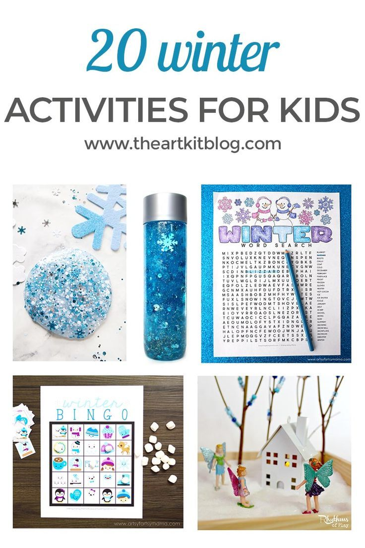 116 best Winter activities with kids images on Pinterest | Winter ...