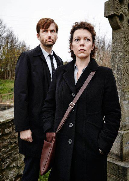"""""""I'm lucky I'm not a pin-up"""": ITV's Broadchurch star Olivia Colman's own battle"""