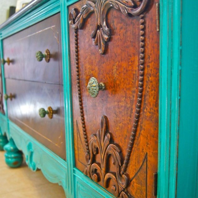 Amazing Antique Tv Stand/buffet Table! Check Us Out On Facebook: Simply  Serie. Custom Upcycled Furniture! | Furniture | Pinterest | Antique Tv  Stands, ...