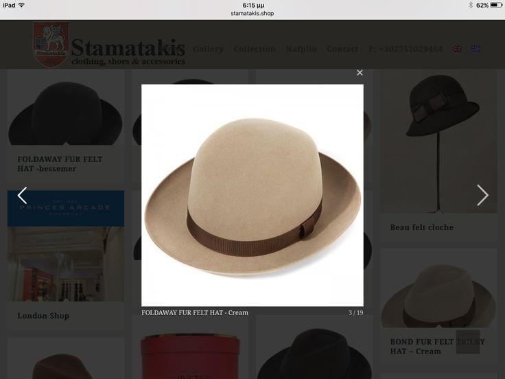 Christys'hats Stamatakis.shop