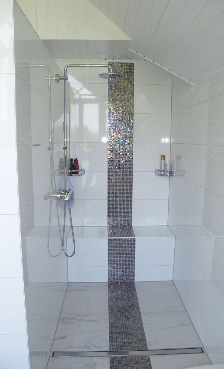 Ebenerdige, Offene Dusche