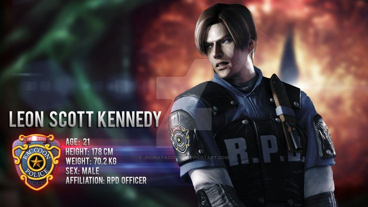 Resident Evil 2 Character Selection Remake - Leon by JhonataCosmo.deviantart.com on @DeviantArt