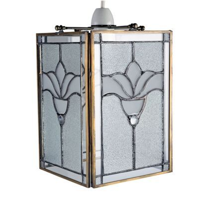 Classic Glass Lampshade - 16cm