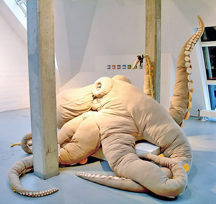 "creativeanchorage: "" Karlo The Octopus by Miriam Hirt """