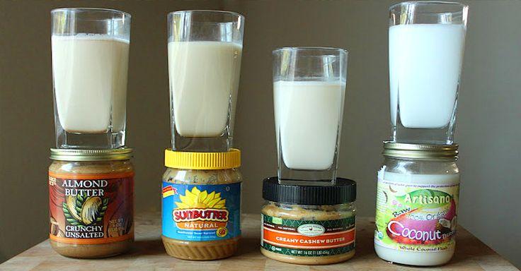 Make Almond Milk In 3 Minutes. No fuss, No straining, No Problem! - https://veryveganrecipes.com/make-almond-milk-in-3-minutes-no-fuss-no-straining-no-problem/