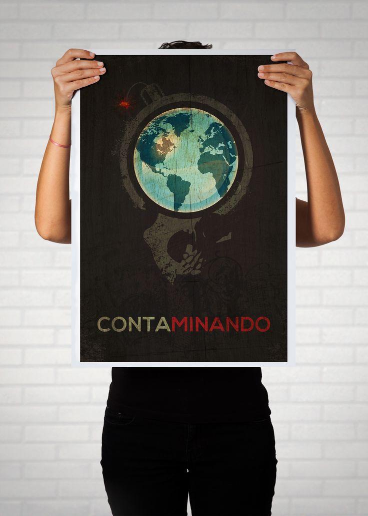 Cartel para Expo Colectiva por La Jornada del Medio Ambiente, ONG Sociedad Civil y Medio Ambiente, La Habana Vieja.