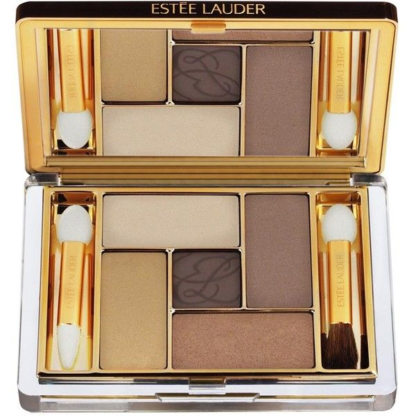 Estée Lauder Pure Colour Envy Sculpting EyeShadow 5-Colour Palette ($52) ❤ liked on Polyvore featuring beauty products, makeup, eye makeup, eyeshadow, estee lauder eye makeup, creamy eyeshadow, estée lauder, estee lauder eye shadow and palette eyeshadow