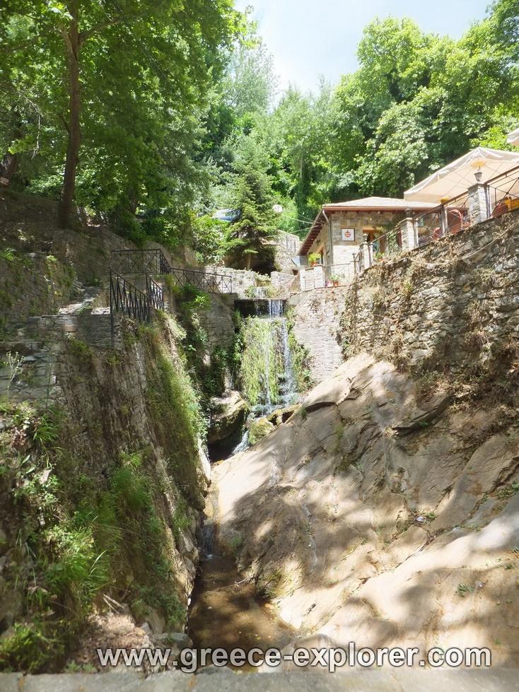 Village Makrinitsa in Mount Pelion