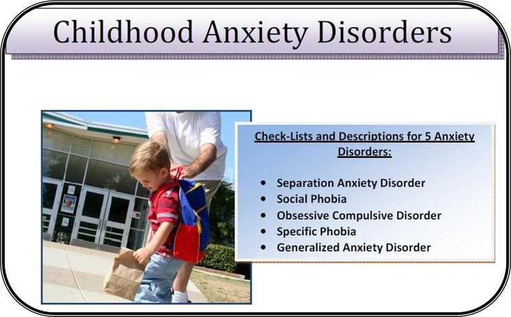 rise of anxiety disorders in students Anxiety in children is a 4-hour online continuing education (ce/ceu) course that focuses on behavioral interventions for children with anxiety disorders in this course, we will discuss ways in which helping professionals can teach children skills to manage their anxiety while meeting their educational and therapeutic goals.