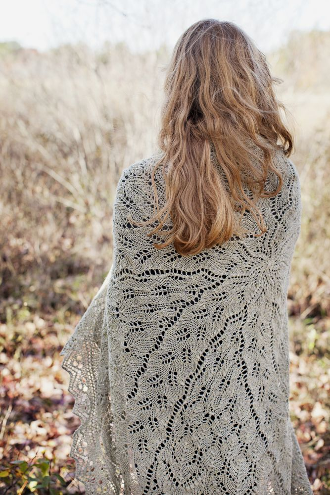 Permafrost shawl from Brooklyn Tweed