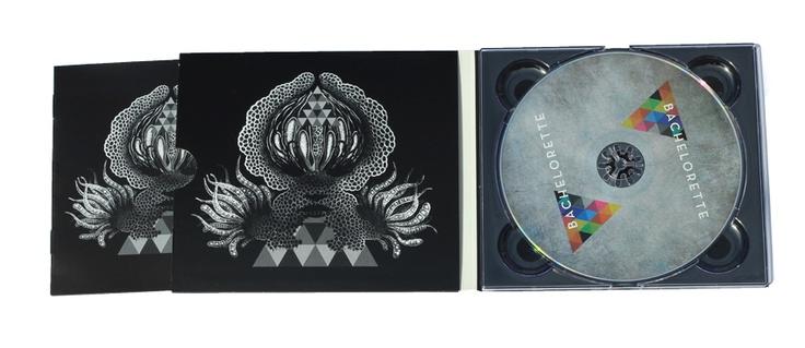 Bachellorette for mistletone records : http://www.cardboardrobotcreative.com/wp-content/gallery/Digipaks/Bachellorette_digipak.jpg #digipak #cdreplication