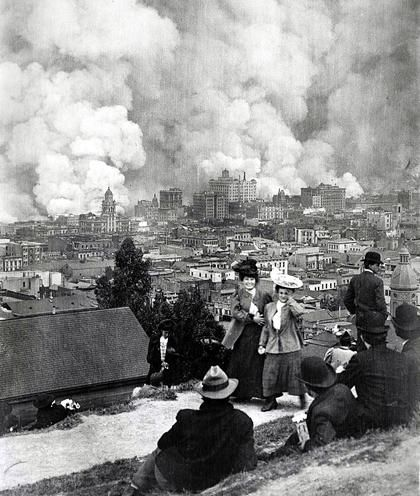 One of the last survivors of the Great 1906 San Francisco Earthquake and fire has died at 109, the San Francisco Chronicle reports.
