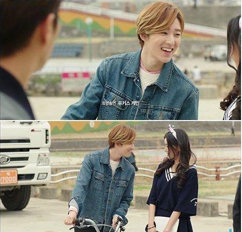 유키스(U-KISS)'s Kevin cameos in 'Let's Eat Season 2.' Can he win Hwang Seung Eon's heart? http://www.dramaboss.com/lets-eat-season-2