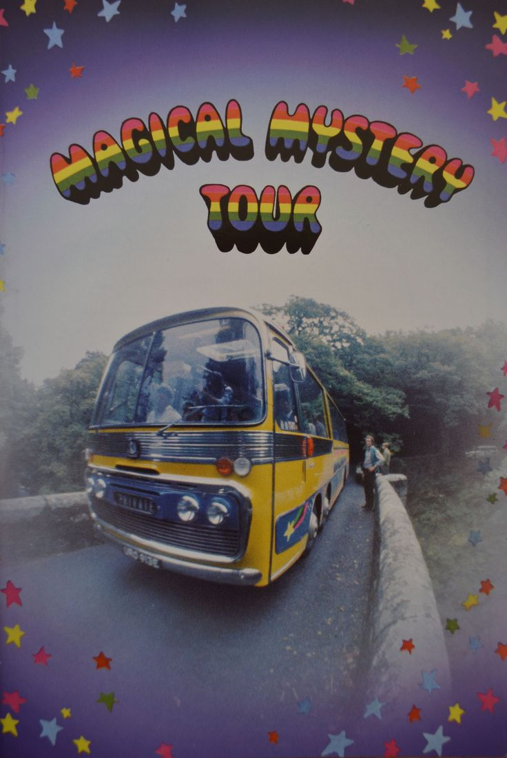 Magical Mystery Tour - it's coming to take you away!