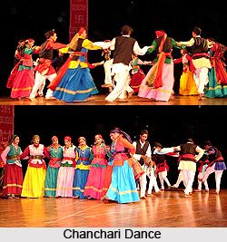 Chanchari Dance is a traditional free style dance similar to Jhoda dance of Uttarkhand- Garhwal. The subject of the dance mostly revolves around love rapture. For more visit the page. #dance #folkdance #indiandance