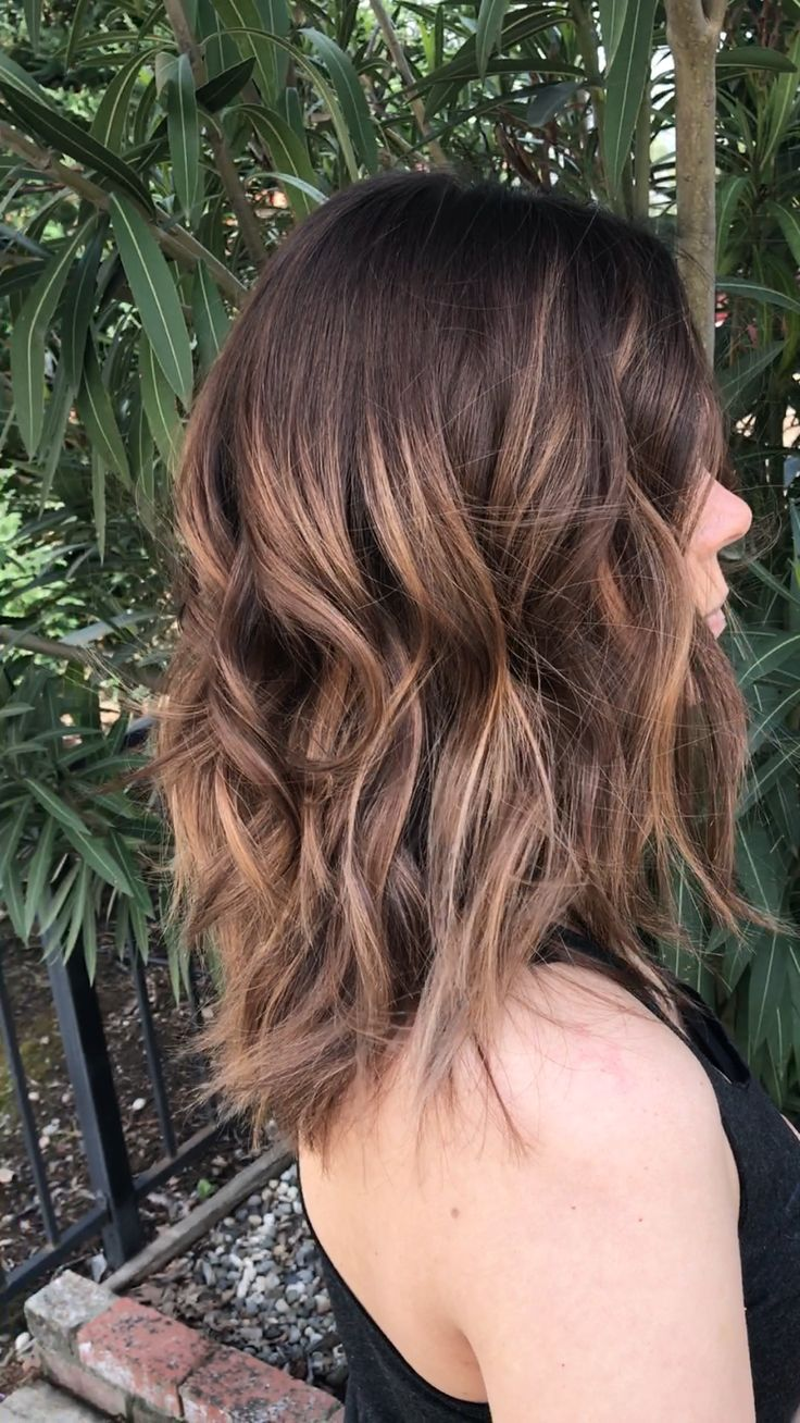 Brunette balayage//Hair by Jessika, Elk Grove, Ca