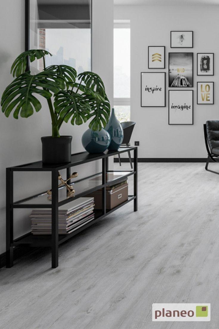 Gemutliches Wohnzimmer Mit Hellem Klick Vinyl Wohnzimmer Boden Vinylboden Haus Deko
