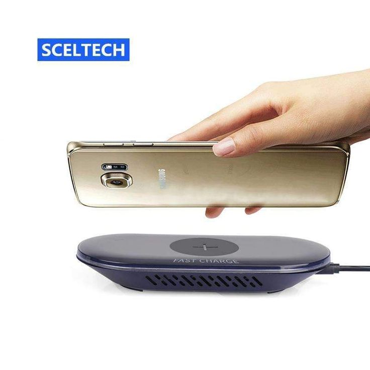 Sceltech Fast Wireless Charger A7-10W Qi Standard Quick Wireless Charger For Samsung S7/S7 Edge/Note5/S6 Edge Plus