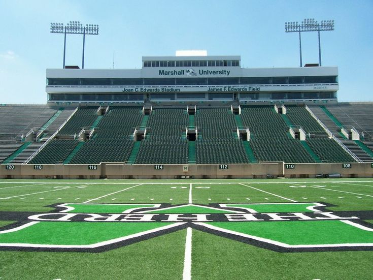 Huntington, WV : Joan C. Edwards Stadium - Marshall University ...