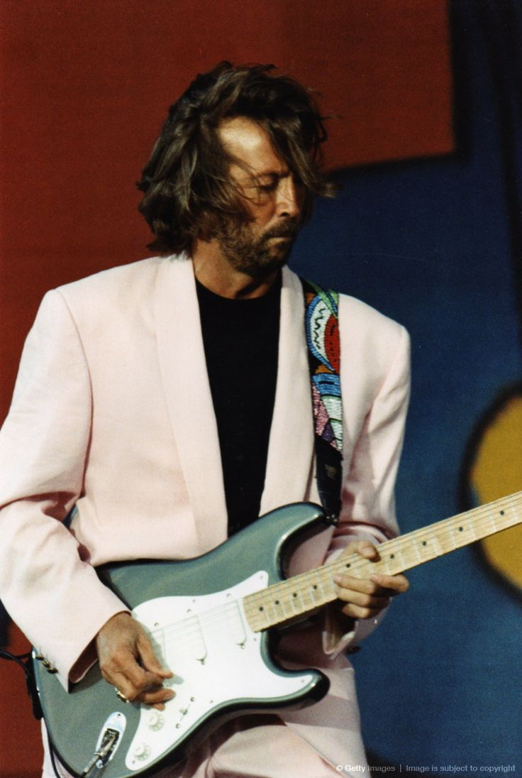 Eric Clapton My first concert at the great Civic Arena in Pittsburgh. The audience sang happy birthday to him - it was beautiful