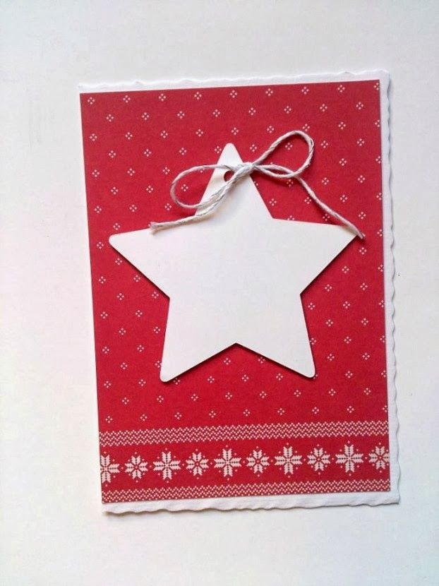selfmade Christmas card - designed by Tandi-Works