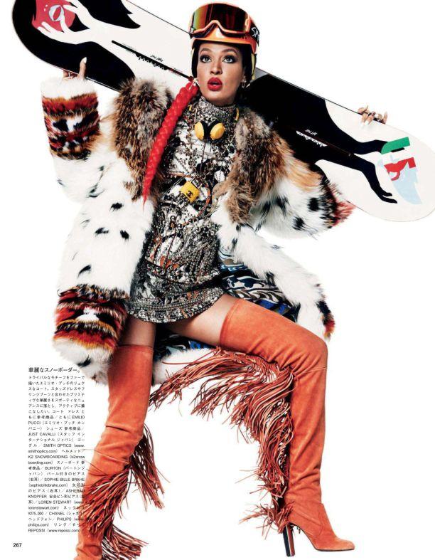 Зимний балаганчик (Vogue Japan December 2014) / Обзор журналов и фотосессий / ВТОРАЯ УЛИЦА
