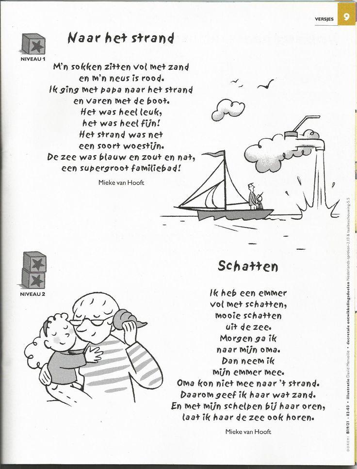 Gedichten/versjes strand en zee