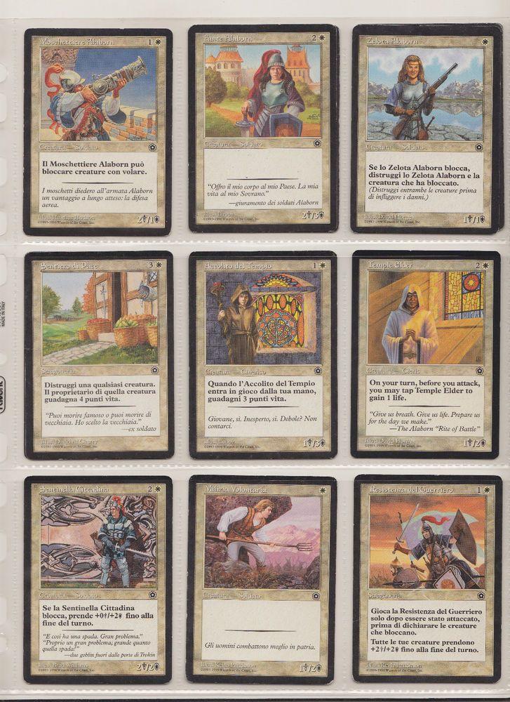 Lotto MTG carte Magic The Gathering Edizione Portal 2 age