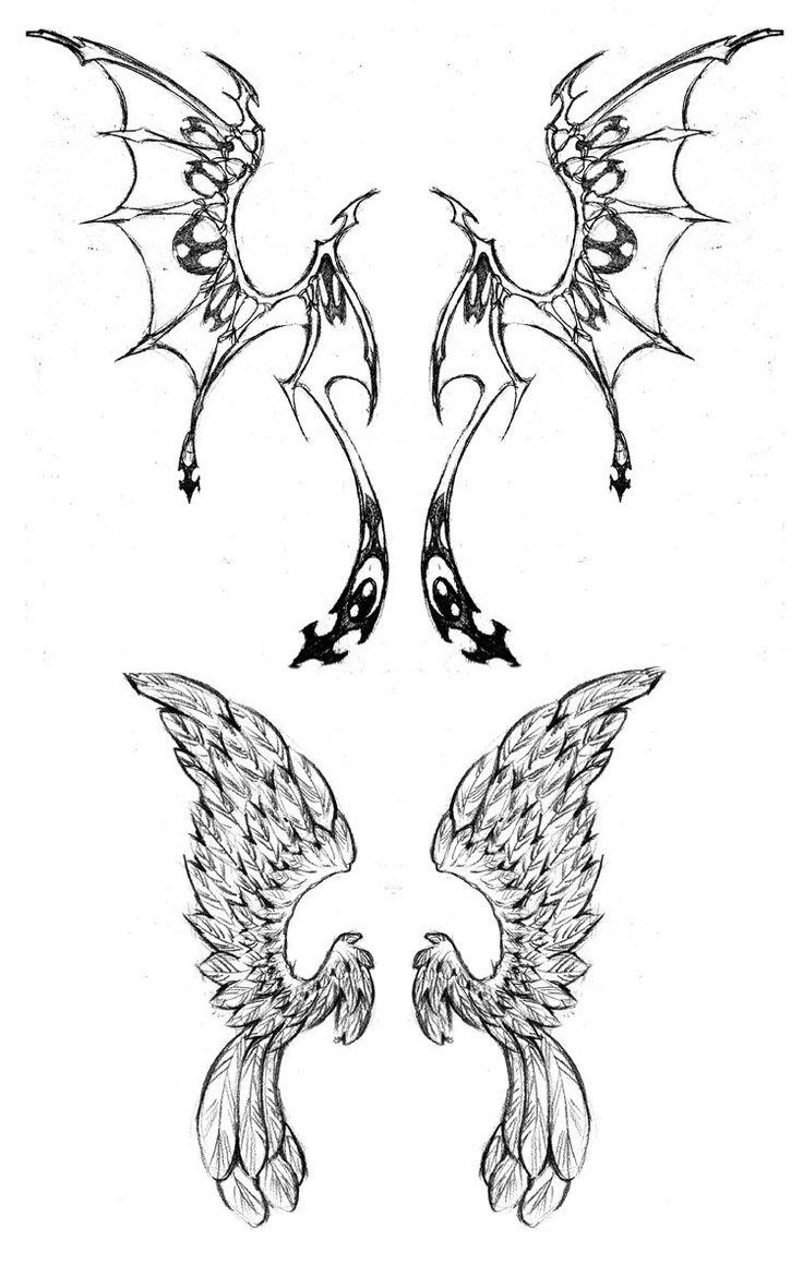 Wing tattoo design - Wing Tattoo Designs By Westbaylen On Deviantart