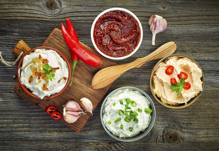Recetas de 8 salsas