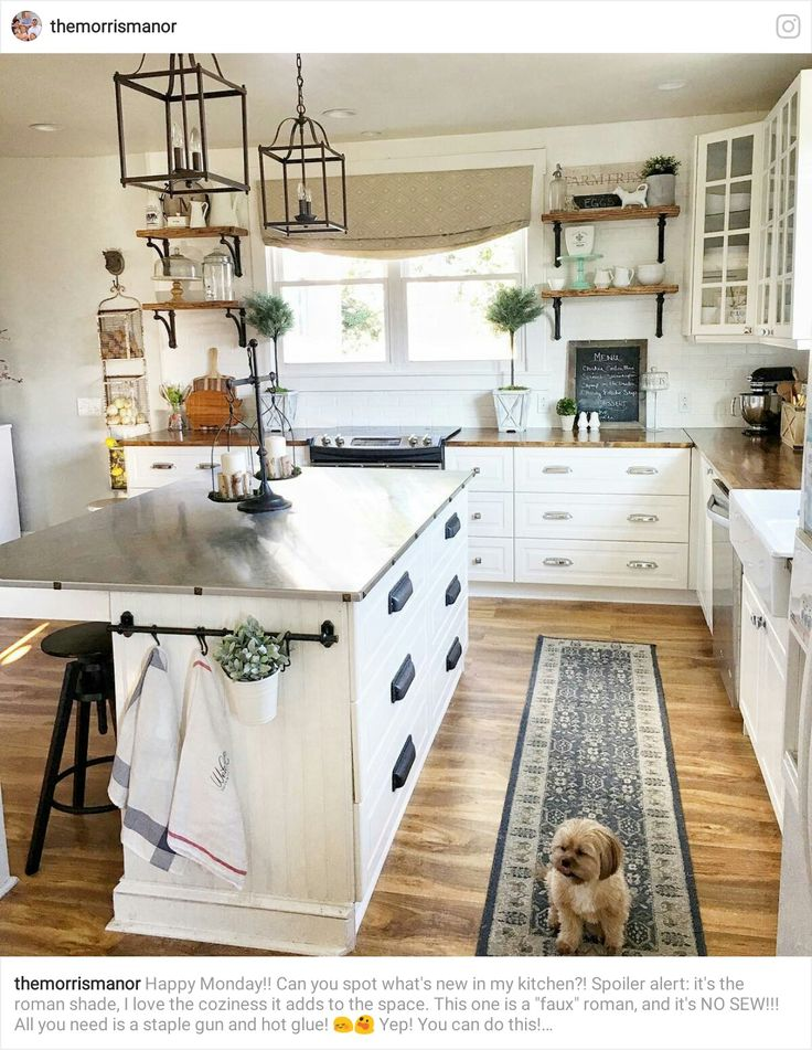 Mejores 408 imágenes de Stylish Kitchens - The Farmhouse/Country ...