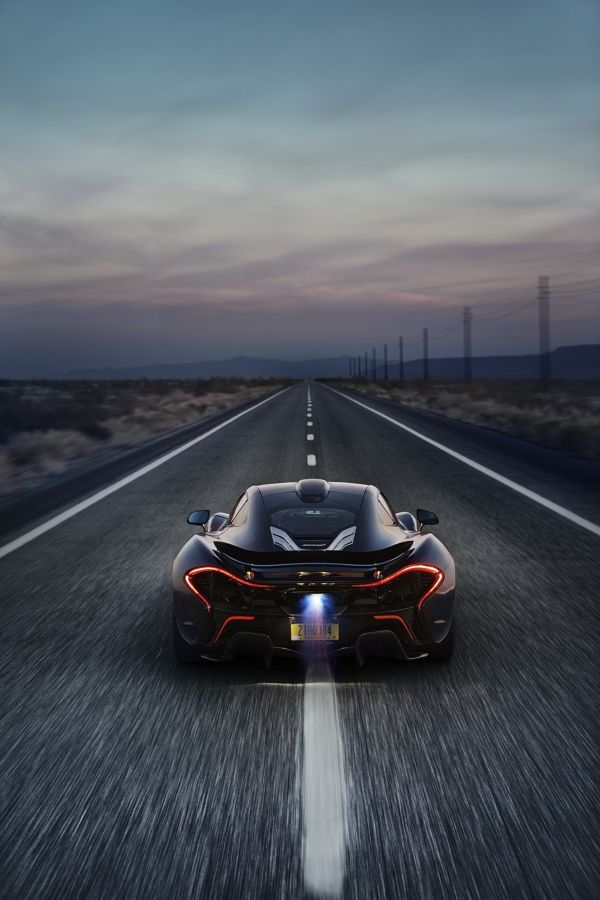 McLaren P1 Death Valley Shoot by Patrick Gosling, via Behance