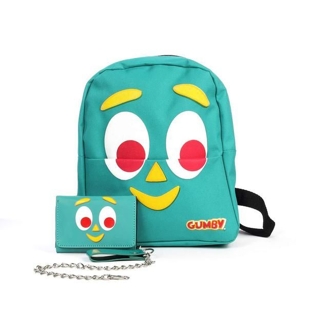 Gumby Wallet and Mini Backpack