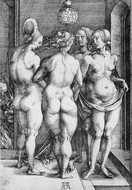 Альбрехт Дюрер - Четыре ведьмы (1497)