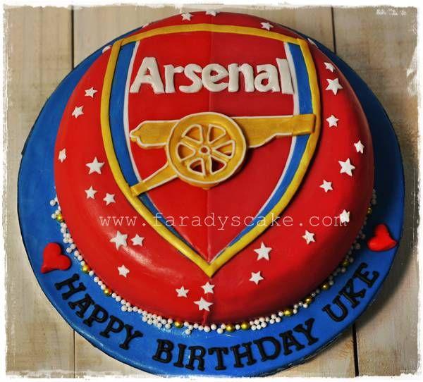 Arsenal Birthday Cake Make cake decoration and cake baking easy with these cake tins.