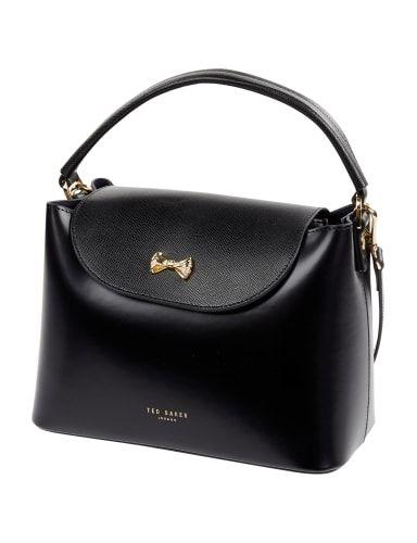 TED-BAKER Handtasche aus Leder in Grau / Schwarz online kaufen (9491920)   P&C Online Shop