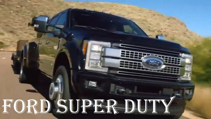 2018 FORD Super Duty 6.2 Platinum Towing Review - Engine, Interior - Spe...