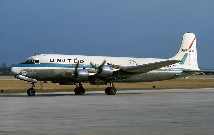 United Airlines DC-6